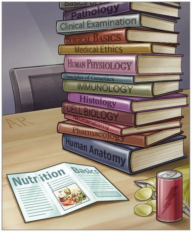Ανεπαρκής η Εκπαίδευση των Φοιτητών Ιατρικής σε όλο τον Κόσμο στη Διατροφή